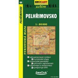 SC 44. Pelhrimovsko turista térkép Shocart 1:50 000