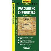 SC 48. Pardubicko, Chrudimsko turista térkép Shocart 1:50 000