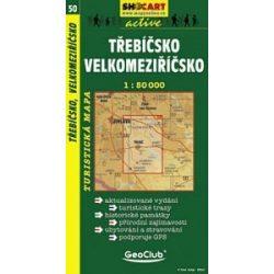 SC 50. Trebicsko, Velkomeziricsko turista térkép Shocart 1:50 000