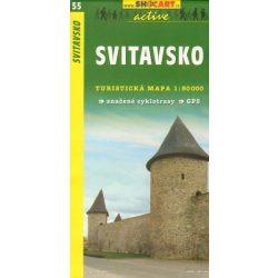 SC 55. Svitavsko turista térkép Shocart 1:50 000