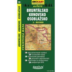 SC 59. Bruntalsko, Krnovsko turista térkép Shocart 1:50 000