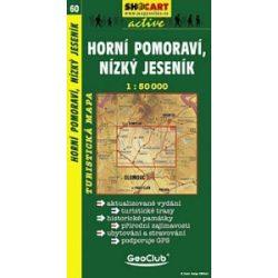SC 60. Horni Pomoravi, Nizky Jesenik turista térkép Shocart 1:50 000