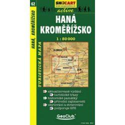 SC 62. Hana, Kromerizsko turista térkép Shocart 1:50 000