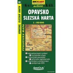 SC 66. Opavsko, Slezska Harta turista térkép Shocart 1:50 000