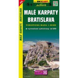 SHC 1078. MALÉ KARPATY - BRATISLAVA / KIS-KÁRPÁTOK - POZSONY TURISTA TÉRKÉP