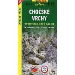 SHC 1095. Chocske vrchy turista térkép  Kócs-hegység térkép 1:50 000
