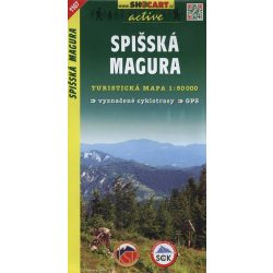 SHC 1107. SPISSKÁ MAGURA / SZEPES -MAGURA TURISTA TÉRKÉP