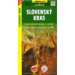 SHC 1108. SLOVENSKÝ KRAS / SZLOVÁK KARSZT TURISTA TÉRKÉP