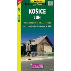 SHC 1110. KOŠICE - JUH / KASSA DÉL TURISTA TÉRKÉP