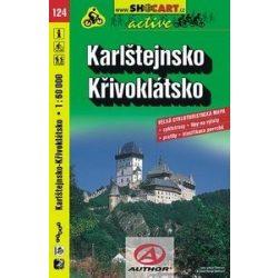 SHC 124. KARLŠTEJNSKO - KŘIVOKLÁTSKO / KARLSTEIN - PÜRGLITZER WALD KERÉKPÁROS TÉRKÉP