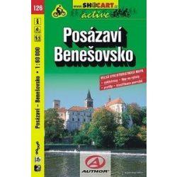 SHC 126. POSÁZAVÍ - BENEŠOVSKO KERÉKPÁROS TÉRKÉP