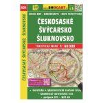SC 401. Českosaské Švýcarsko térkép, Šluknovsko, Cseh-Svájc–Šluknovsko turista térkép Shocart 1:40 000  2015