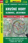 SC 406. Krušné hory turista térkép - Klinovec - Jachymov / Érchegység turista térkép / Erzgebirge Shocart 1:40 000