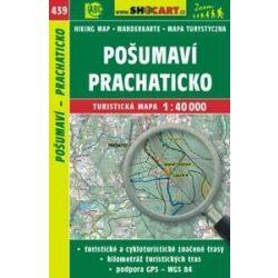 SC 439.  Pošumaví turista térkép  - Prachaticko / Böhmerwald-Vorgebirge - Prachatitz turistatérkép Shocart 40 000