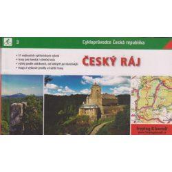 Cseh paradicsom térkép, Cesky raj kerékpáros atlasz