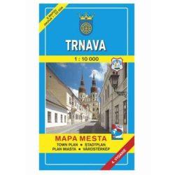 Trnava térkép, Nagyszombat térkép 1:10 000 Mapa Mesta