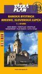 Banská Bystrica, Besztercebánya térkép Tatra Plan 1:10 000