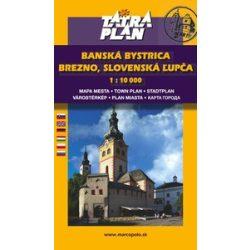 Banská Bystrica, Besztercebánya térkép Tatraplan 1:10 000