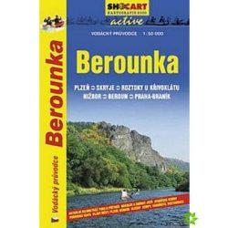 Berounka vízi térkép Shocart 1:50 000