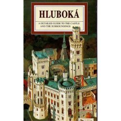 Hluboká térkép, látványtérkép, Hluboká panorámatérkép angol nyelven