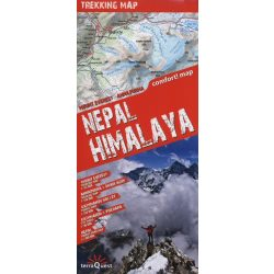 Nepál Himalaya térkép ExpressMap   1:1 300 000