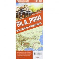 Rila térkép, Pirin térkép TerraQuest 1:80 000