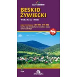 Beskid Zywiecki turista térkép Sygnatura 1:50 000