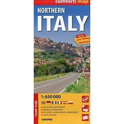 Észak-Olaszország térkép Expressmap fóliás