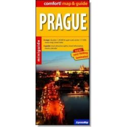 Prága térkép ExpressMap 1:20 000