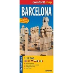 Barcelona térkép ExpressMap 1:17 500  2010