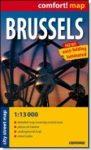 Brüsszel térkép ExpressMap 1:13 000 2010 Brüsszel zsebtérkép