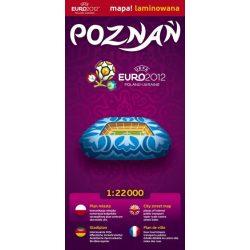 Poznan térkép Euromapa 1:22 000
