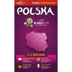 Lengyelország térkép Euromapa 1:1 400000