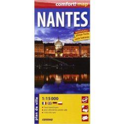 Nantes térkép fóliás ExpressMap 1:15 000