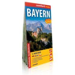 Bajorország Comfort térkép (Expressmap) 1:400 000 2013