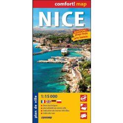 Nice térkép, Nizza térkép Express Map 1:15 000