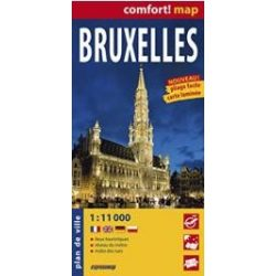 Brüsszel térkép ExpressMap 1:11 000