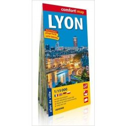 Lyon térkép fóliás ExpressMap 1:15 000