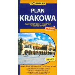 Krakkó térkép Tatraplan 1:20 000 Krakkó várostérkép