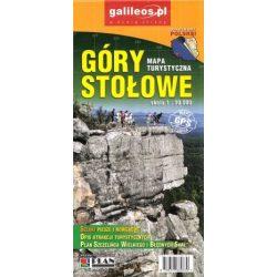 Góry Stołowe turista térkép Dél-Nyugat Lengyelország 1:30 000 Plan 2016