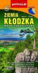 ZIEMIA KŁODZKA turista térkép Lengyelország+Csehország 1:70 000 Plan 2016