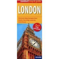London térkép fóliás expressmap