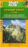 2502.  Magas-Tátra turista térkép Tatraplan, The High Tatras / Vysoké Tatry, 1:25 000