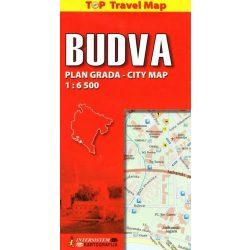 Budva térkép, Kotori öböl térkép Intersistem 1:6 500  2013