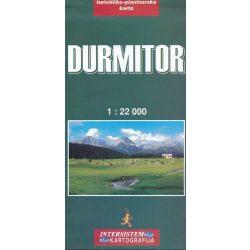 Durmitor térkép Intersistem 1:22 000
