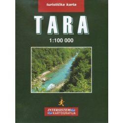 Tara turistatérkép Intersistem 1:100 000  Tara térkép