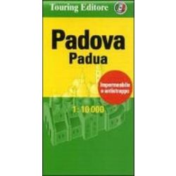 Padova térkép Touring Club Italiano 1:10000