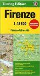 Firenze térkép Touring Editore 1:12 500