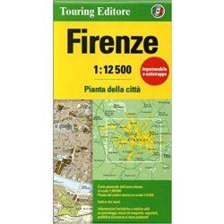 Firenze térkép Touring Club Italiano 1:12 500