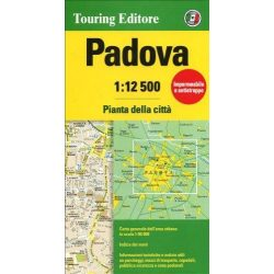 Padova térkép Touring Editore 1:12 500